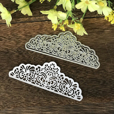 Lace Corner Cutting Dies Stencil Paper Cards Craft Embossing DIY Die-Cut Fashion