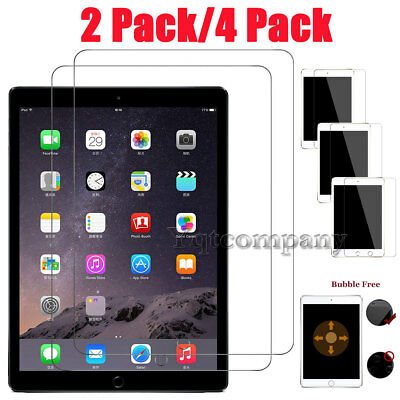 For New iPad 6th Generation 9.7 inch 2018 Tablet Tempered Glass Screen Protector