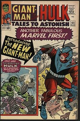 Tales To Astonish #65 Beautifully Glossy Vfn-  White Pages. Hulk By Steve Ditko