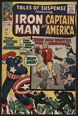 Tales Of Suspense #60, Dec 1964.  Tight Structure, White Pages!