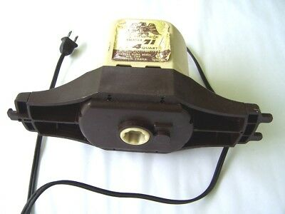 Ice Cream Maker Motor for 4 Quart 120 VAC 1.4 Amps used tested OK