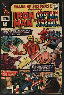 Tales Of Suspense #67, Jul 1965. Very Glossy Cents Copy, Nice Page Quality! .
