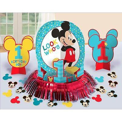 Mickey Mouse Fun To Be One 1St First Birthday Party Table Decorating Kit