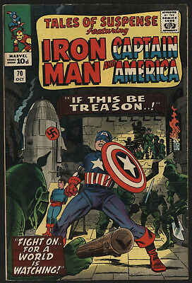 Tales Of Suspense #70 Oct 1965. Tight, Glossy, Off White/ White Pages! .