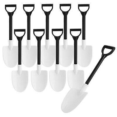 Mini Plastic Shovel Spoons Pack Of 10 Construction Birthday Party Supplies