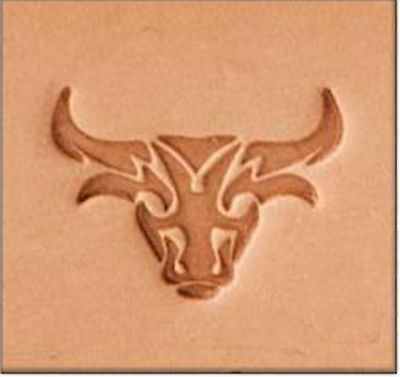 Craftool 2D Stamp Bullz by Stecksstore Leather Stamping Tools