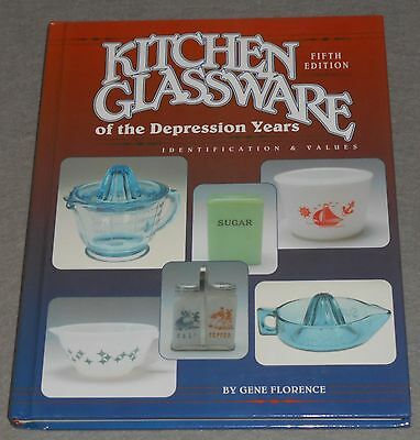 KITCHEN GLASSWARE of the Depression Years, Vol. 5 by Gene Florence, 1994