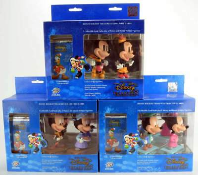 Upper Deck Disney HOLIDAY Treasures collectible cards & figures complete set