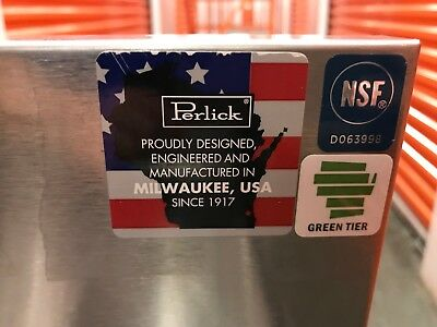 "Perlick TS 33"" Custom Underbar Drainboard with Embossed Top"