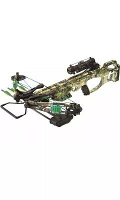 new 2018 pse fang xt camo crossbow w upgraded scope hand crank