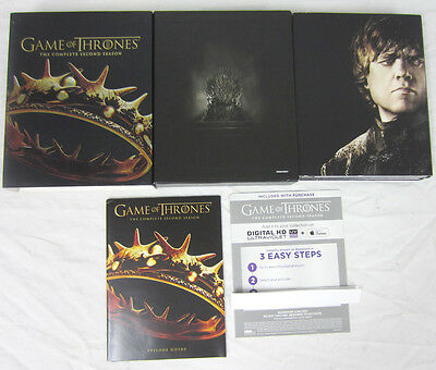 Game of Thrones: The Complete Second Season (Blu-ray Series 2013)