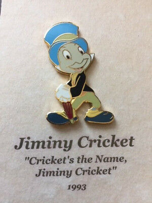 A Decade of Dreams Framed Jiminy Cricket Cricket's The Name Pin Artist Proof