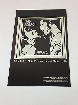 1995 MAD SEASON Above ad page ~ Alice In Chains, Layne Staley