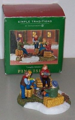 Dept 56 Simple Traditions ~ Pine Isles Campfire Melodies ~ EUC With Box 06156