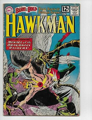 Brave And The Bold 42 - Vg 4.0 - 4Th Appearance Of Silver Age Hawkman (1962)