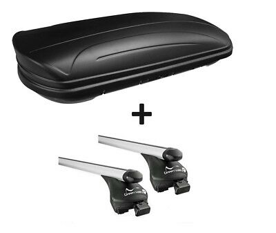 Roof Box Vdpmaa320l Matte +Alu-Relingträger Quick Edition Railing Seat Altea XL