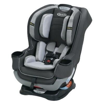 Graco Baby Extend2Fit Convertible Car Seat with Safety Surround - Byron