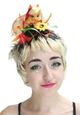 Punk Doll Pom Pom Festival Flower Crown Headband Headdress Kawaii Kei Gobbolino