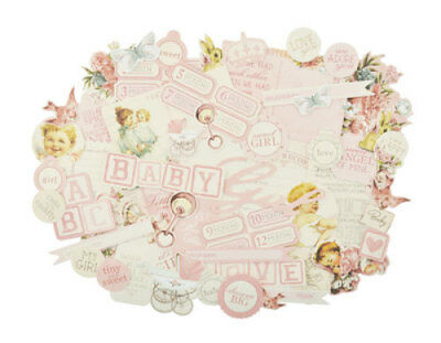 *A&B* KAISERCRAFT Scrapbooking Collectables - Peek-a-boo - Girl - CT867