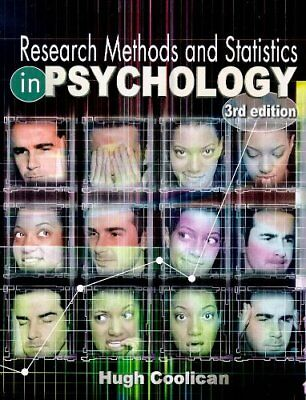 Research Methods and Statistics in Psychology,Hugh Coolican