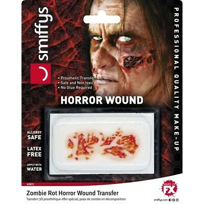 Horror Ferita Trasferimento Zombie Rot Special Fx Halloween Make Up