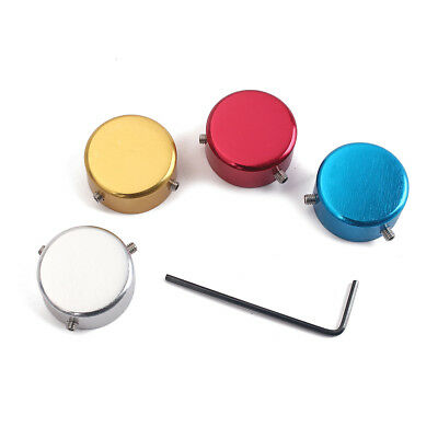 4pcs Electric Guitar Pedal Effect Foot Nail Foot Switch Cap Knob Wrench Screw