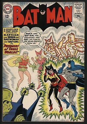 Batman #153 Great Cover! Batman And Batwoman Get Smoochy! Nice Glossy Cents Copy