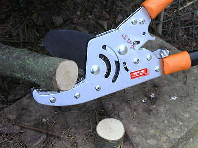 Telescopic Industrial Duty. Ratchet Tree Lopper Pruner