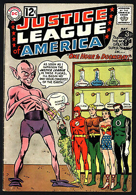 Justice League Of America #11 From May 1962 Nice Original Owner Copy