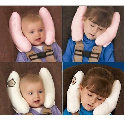 Adjustable Kid Head Neck Support Baby Car Seat Pillow Trolleys Child Care Tool H
