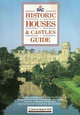 Royal Automobile Club Guide to Historic Houses in Britain and Ireland,Patricia