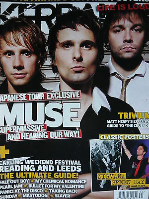 Kerrang 1122 - Muse / Bullet For My Valentine/My Chemical