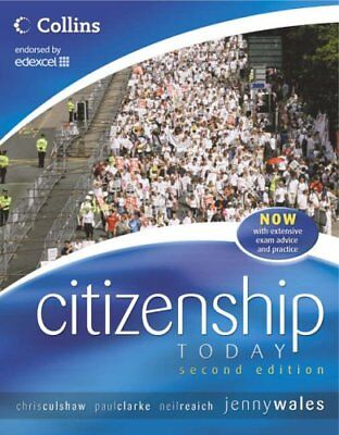 Citizenship Today - Student's Book: Endorsed by Edexcel (Citizenship Today 2),J