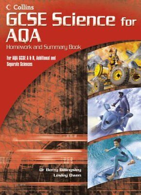 GCSE Science for AQA - Science Summary and Homework Book,