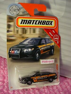 Ford Expedition RED WE6 2018 Matchbox Case D