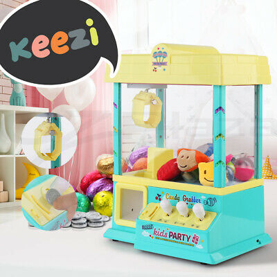 Keezi Claw Machine Mini Candy Grabber Kids Game Vending Machines Toy Music lolly