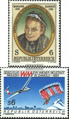Austria 1946,1947 (complete issue) used 1989 special stamps