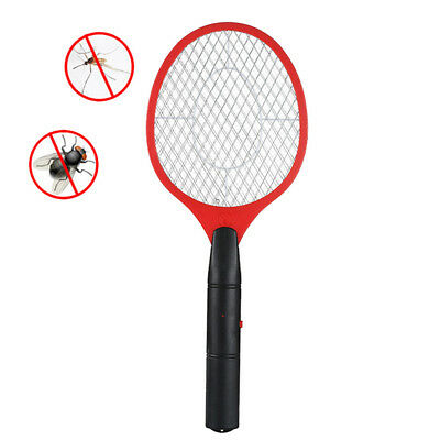 Bug Zapper Electric Tennis Racket Mosquito Fly Swatter Killer Insect Handheld