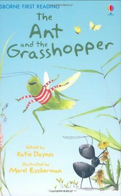 The Ant and the Grasshopper (Usborne First Reading: Level 1),Katie Daynes, Mere