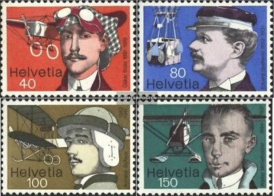 Switzerland 1090-1093 (complete.issue) unmounted mint / never hinged 1977 Aviato