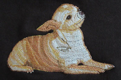 Embroidered Short-Sleeved T-Shirt - Chihuahua AD007  Sizes S - XXL