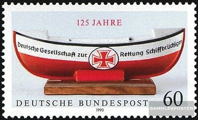 FRD (FR.Germany) 1465 (complete issue) FDC 1990 Shipwrecked