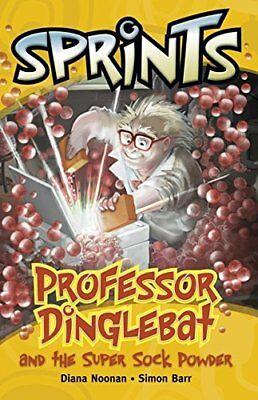 20 Professor Dinglebat & the Super Sock Powder (Sprints),Macmillan