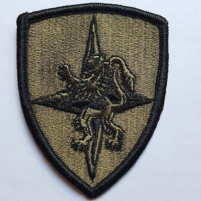 U.s. Army Allied Land Forces Central Europe Oliv Subdued Aufnäher Patch
