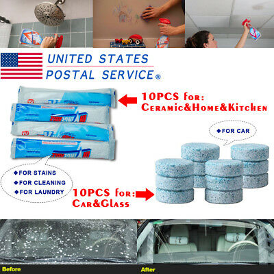 Multifunctional Effervescent Spray Cleaner For Home&Kitchen&Car USE USPS Folding