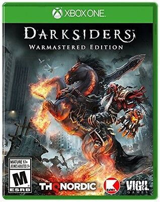 Xbox One Xb1 Video Game Darksiders Warmaster Edition Brand New And Sealed