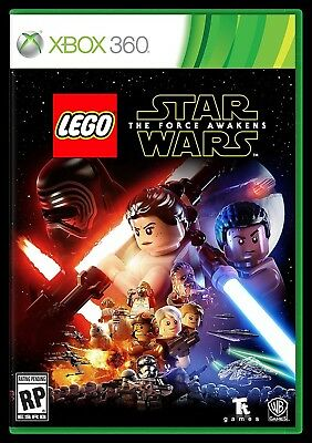 Xbox 360 Game Lego Star Wars The Force Awakens Brand New And Sealed