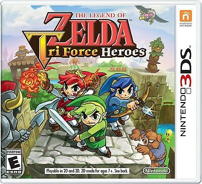 Nintendo 3Ds Game The Legend Of Zelda: Trifoce Heroes Brand New And Sealed