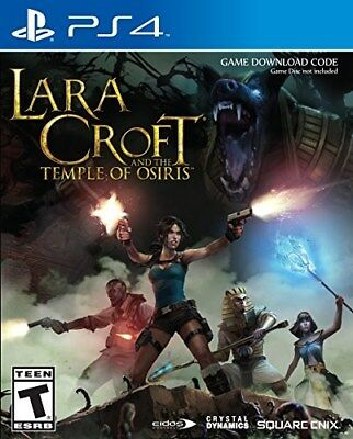 Playstation 4 Ps4 Game Lara Croft And The Temple Of Osiris New And Sealed Code