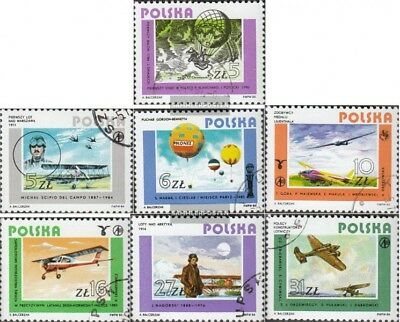 Poland 2939-2945 (complete issue) unmounted mint / never hinged 1984 Polish Avia